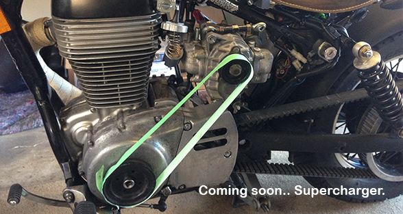 Suzuki Savage Supercharged