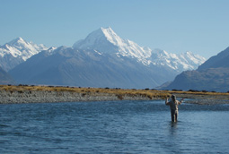 The Ahuriri River - this is the life - fly fishing, New Zealand